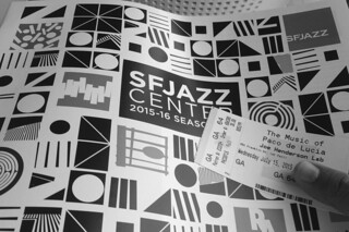SF Jazz - Programme by roland luistro, on Flickr