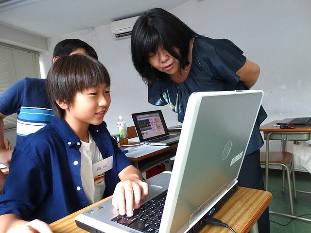 ファミリオ夏期プログラミング小学クラス