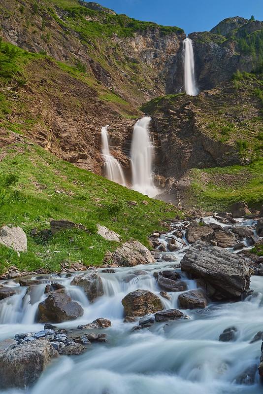 Geltenbach Waterfalls - Geltenhütte