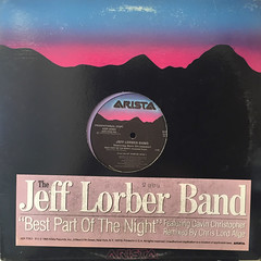 THE JEFF LORBER BAND:BEST PART OF THE NIGHT(JACKET A)