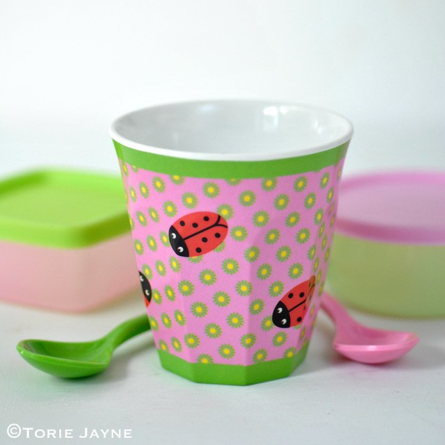 Kids Ladybug cup