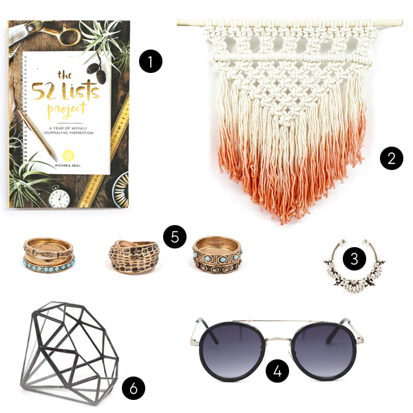 favorite items from moorea seal