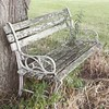 Old bench on Mom and Charles' farm #rustic #ohio