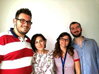 Casamassima-Il team Take Me Guide, con Stefano de Santis