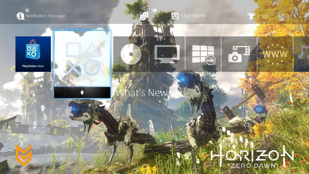 Horizon PS4 Theme