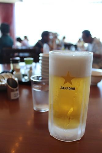 四海樓_ビール