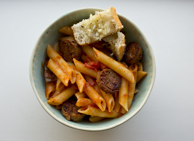 Pasta with red sauce 3