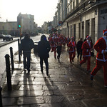 The Myton Hospices Santa Dash 2016