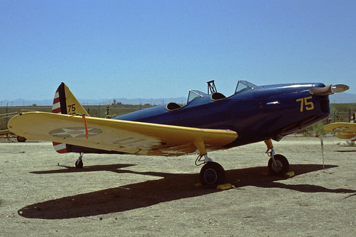 Fairchild PT-19 Cornell at the Pima Air & Space Museum, 1980