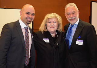 Patrick Baghdaserians, Judy Bogen and Neal Hersh