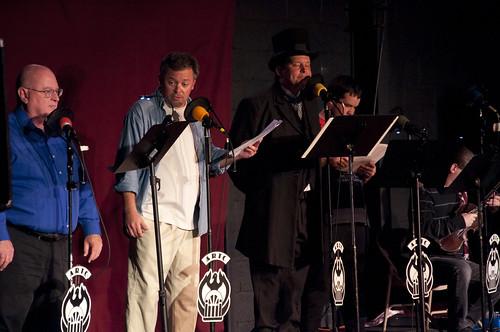 Ron N. Butler, Brian Troxell, Hal Wiedeman, J. E. Hurlburt