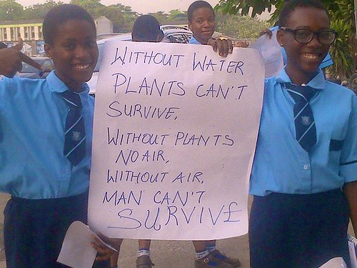 World Water Day 2015 was also celebrated at Marywood Girls School in Lagos.