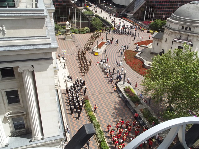 Armed Forces Day - Centenary Square - parade