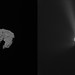Comet on 6 August 2014 and 6 August 2015 by europeanspaceagency