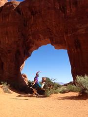 Pine Tree Arch jump !