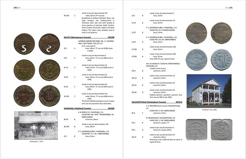 Virginia Tokens 2nd ed Page sample