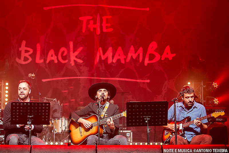 The Black Mamba com António Zambujo e Miguel Araújo - Coliseu do Porto '17