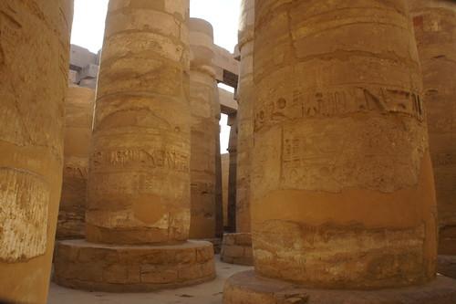 The hypostyle hall of Karnak