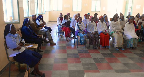 A Women and Youth Empowerment Workshop was organised by the three pioneer sisters in February 2015.