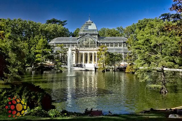 Palacio de Cristal no Parque del Retiro, Madri