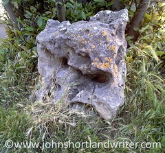 Ancient Holed Marker Stone