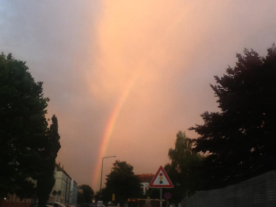 Regenbogen -- Rainbow
