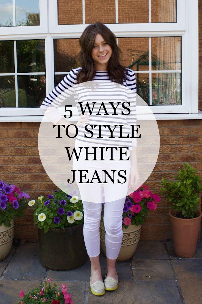 rachael white jeans 4
