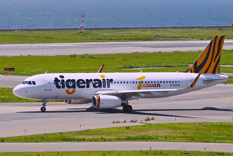 欣豐虎航 B-50006 Tigerair Taiwan Airbus A320-232(WL)
