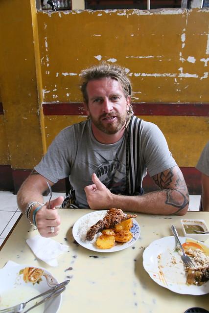 Cuy (Guinea Pi).  Huraz, Peru.