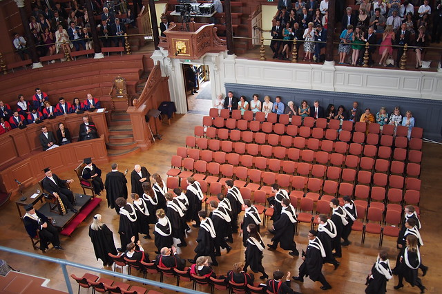Oxford Degree Ceremony 2015