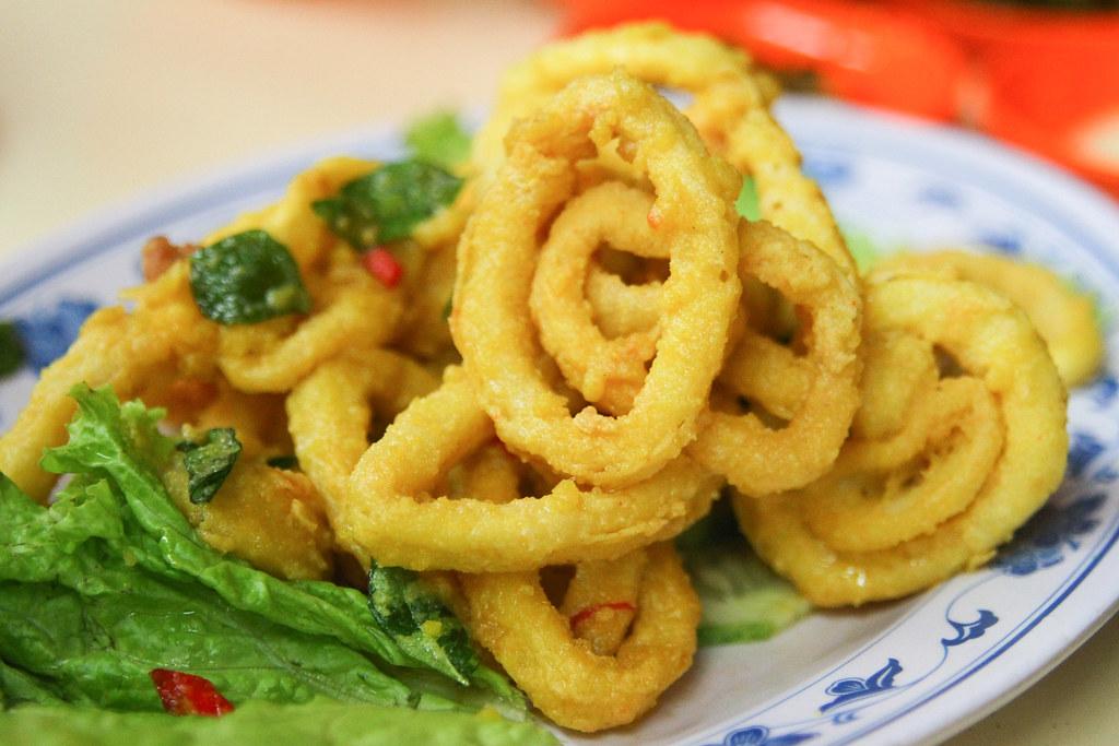 Keng Eng Kee Seafood's Salted Egg Sotong