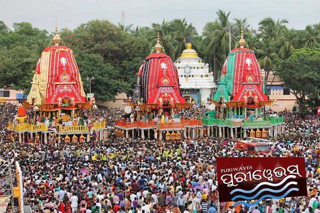 Three Chariots are now at Gundicha Bari