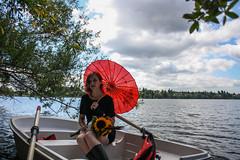 Boating on Green Lake.