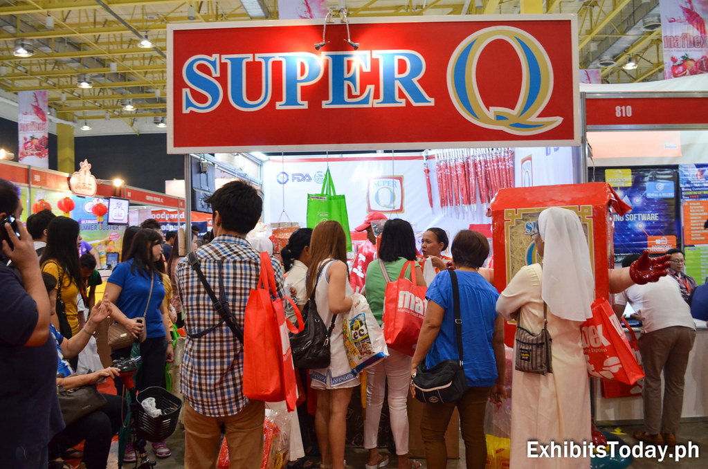 Free Tasting at Super Q Exhibit Stand