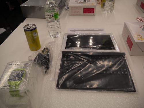 Xperia アンバサダー ミーティング レンタル品など