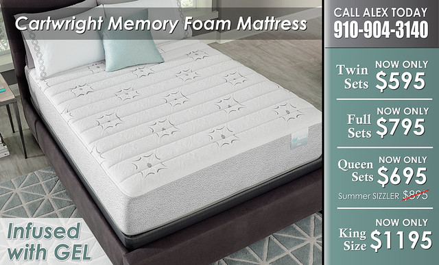 Cartwright Gel Mattress Priced