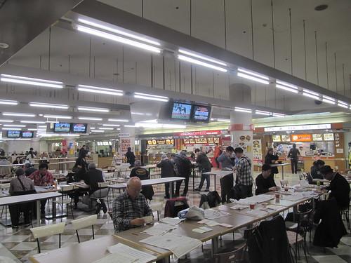 ★中山競馬場の地下1階レストランプラザ