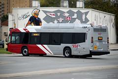 VIA Metropolitan Transit Nova Bus 421 CNG