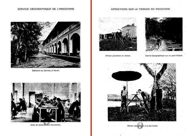 La carte de l'Empire colonial francais 1931 (1) - SERVICE GÉOGRAPHIQUE DE L'INDOCHINE - Salle de dessinateurs Annamites.