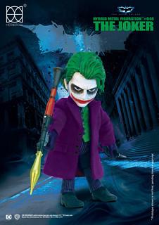 HEROCROSS【黑暗騎士:小丑】The Dark Knight The Joker HMF#046