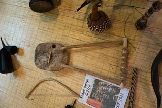 Aboriginal Kenyan instrument