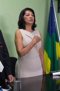 Posse da Vereadora Professora Lia em Umbaúba
