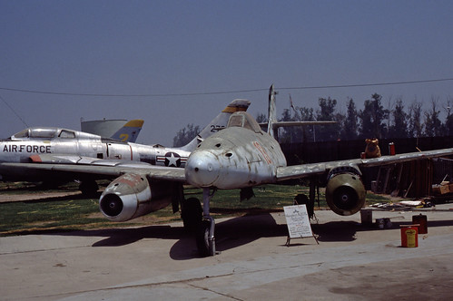 Messerschmitt Me-262 at the Planes of Fame Museum, 1980