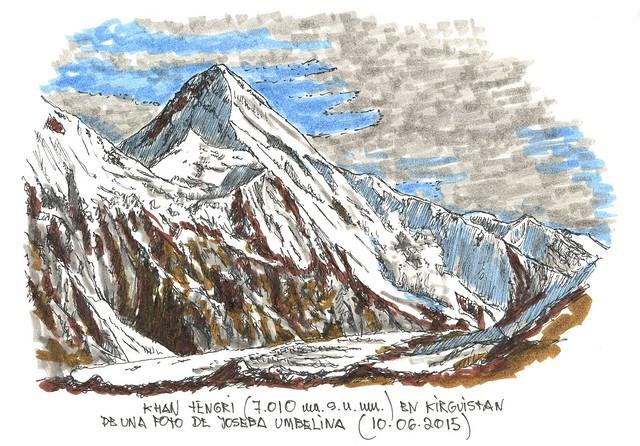 Khan Tengri (7.010 m.s.n.m.)