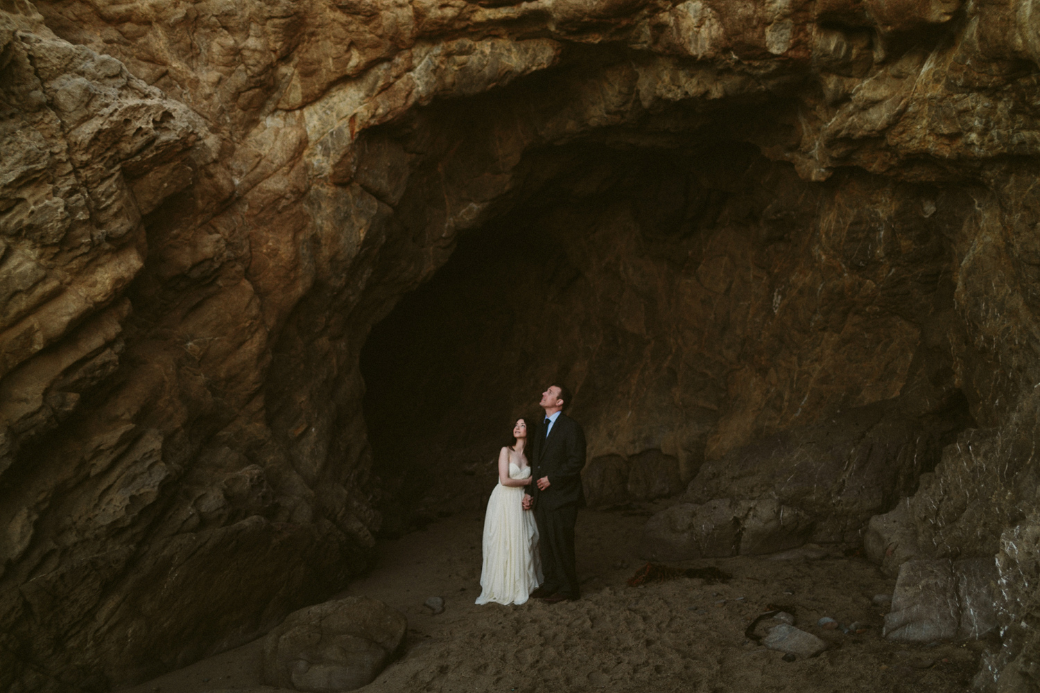 Malibu adventure elopement