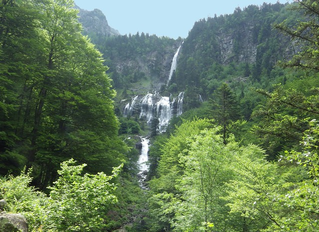 Cascade d'Ars, Aulus les Bains