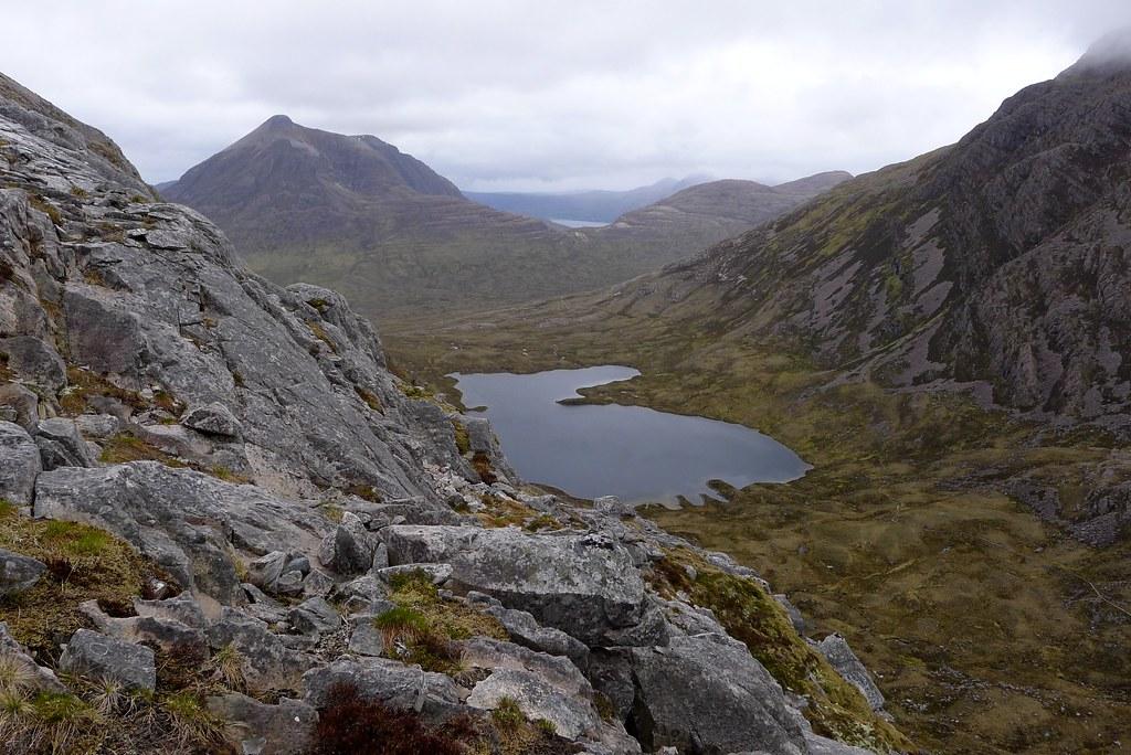 Beinn Damph and Loch Coire an Ruadh-staic