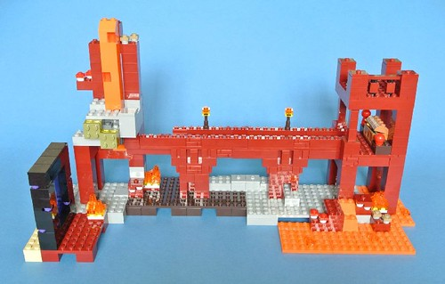 Review - 21122 LEGO Minecraft:The Nether Fortress από BRICKSET 19159515374_f2ff89cb49