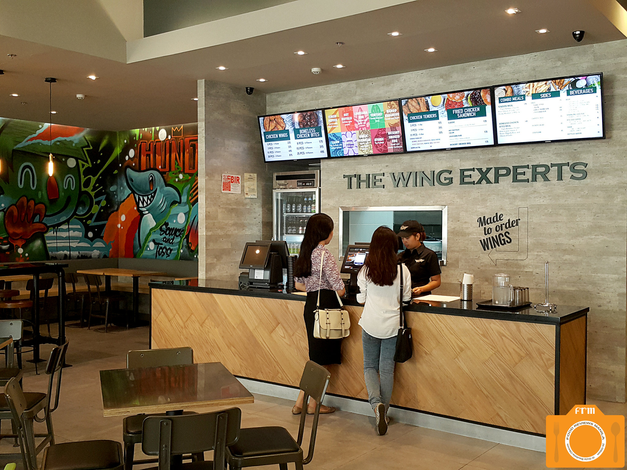 Wingstop counter