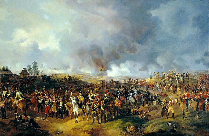 Battle of Leipzig, from 2 to 7 October 1813, by Alexander Sauerweid